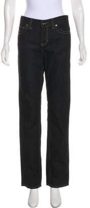 Calvin Klein Jeans Mid-Rise Straight-Leg Jeans w/ Tags