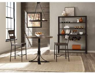 Hillsdale Furniture Jennings 3 Piece Counter Height Dining Set with Non-Swivel Counter Height Stools