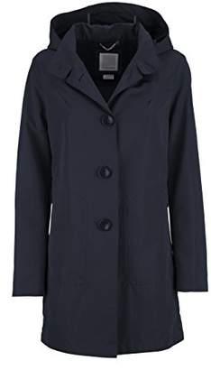 Geox Women's WOMAN JACKET Long Sleeve Coat,(Manufacturer Size: 50)