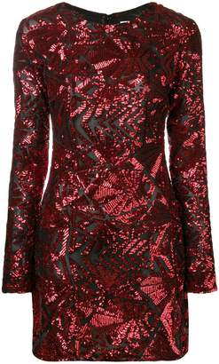 P.A.R.O.S.H. sequin pattern dress