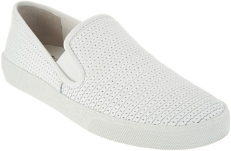 Vince Camuto Leather Slip On Sneakers - Cariana