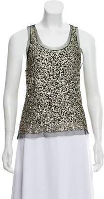 Gryphon Sequin Sleeveless Top