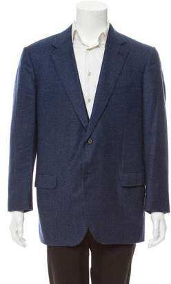 Caruso Cashmere Houndstooth Blazer