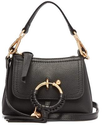 See by Chloe Joan Mini Leather Cross Body Bag - Womens - Black