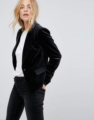 Vila Velvet Tailored Blazer