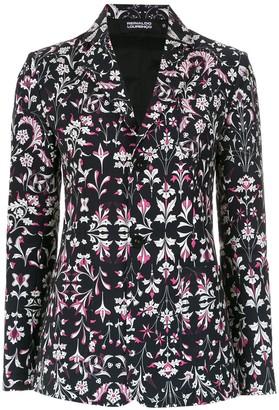 Reinaldo Lourenço floral print blazer
