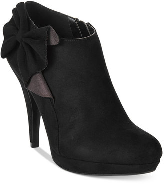 Impo Portia Bow Booties $80 thestylecure.com