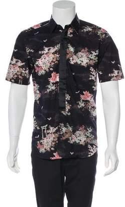 Marc Jacobs Woven Floral Shirt