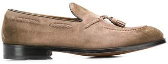 Doucal's tassel detal loafers