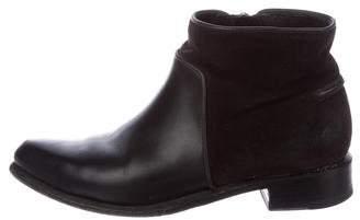 Rag & Bone Leather Pointed-Toe Booties