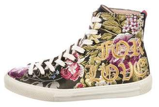 Gucci Blind For Love High-Top Sneakers