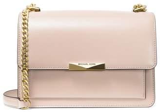 MICHAEL Michael Kors Large Jade Leather Gusset Shoulder Bag