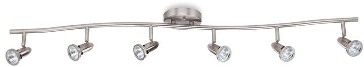 Bed Bath & Beyond6-Light Ceiling Track Light in Satin Nickel