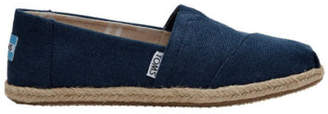 Toms NEW Alpargata Canvas Esp Navy Washed 10009758