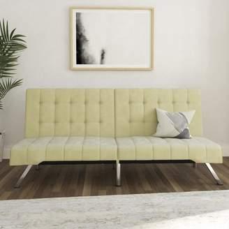 Wade Logan Trantham Velvet Convertible Sofa