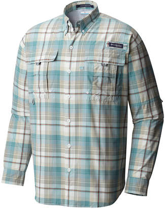 Columbia Men Super Bahama Plaid Shirt