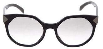 Prada Geometric Gradient Sunglasses