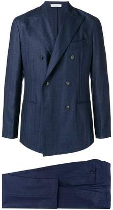 Boglioli classic double-breasted suit