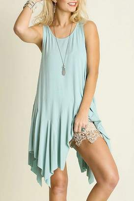 Umgee USA Sleeveless Draped Shirt