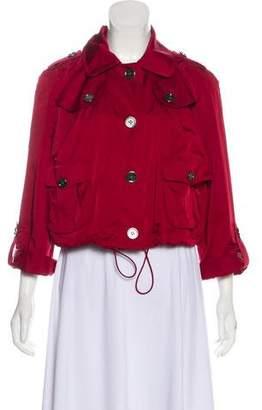 Burberry Nova Check Long Sleeve Jacket