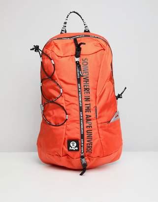 A Bathing Ape Aape By AAPE By backpack in orange