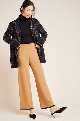 Scotch & Soda Ribbed Knit Wide-Leg Trousers
