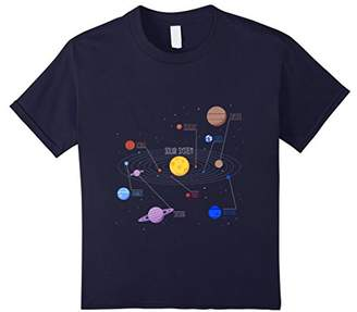 Solar System Planets T-shirt Sun and the Planets Tee Shirt