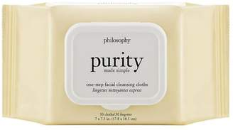 philosophy Purity Made Simple One Step Facial Cleansing Cloths