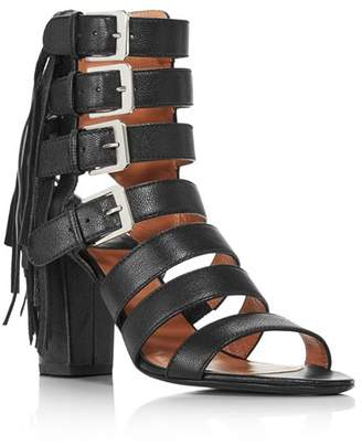 Laurence Dacade Women's Sidney Tasseled Leather Strappy Sandals