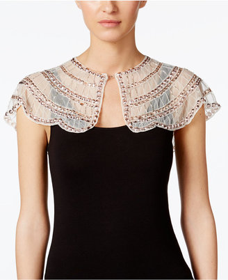 Inc International Concepts Beaded Mini Capelet, Created for Macy's $88.50 thestylecure.com