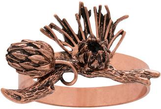 Joanna Buchanan Set of 4 Pinecone Napkin Rings - Copper