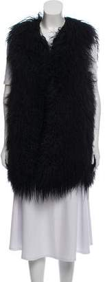 Alice + Olivia Lamb Fur Vest w/ Tags