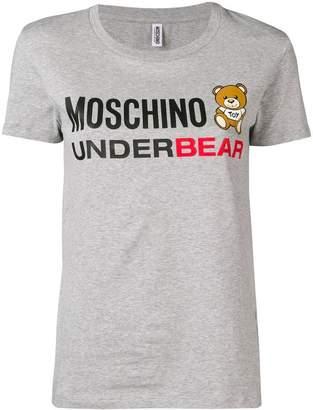 Moschino 'Underbear' print T-shirt