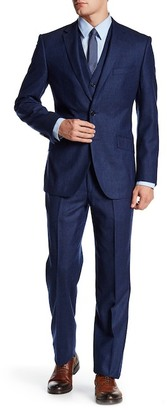 English Laundry Two Button Notch Lapel Wool Suit $795 thestylecure.com