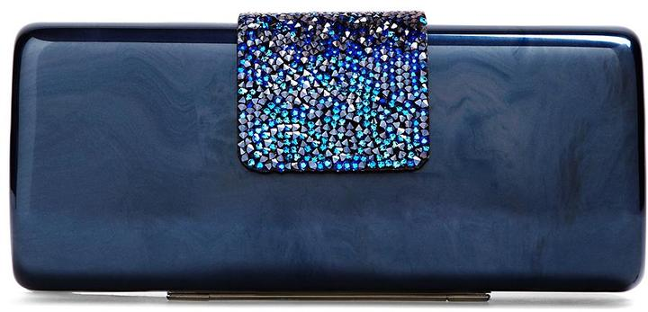 Brooks Brothers Rectangular Molded Clutch