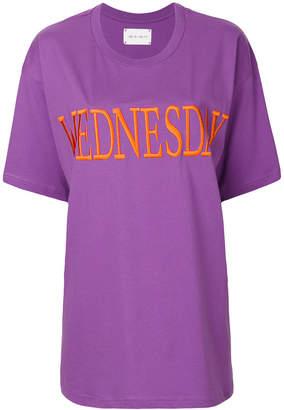 Alberta Ferretti Wednesday embroidered T-shirt