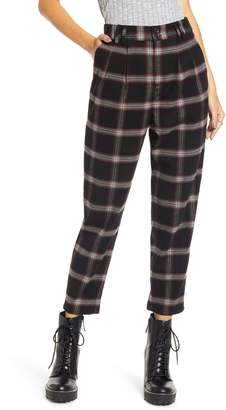 BP x Claudia Sulewski Plaid Menswear Crop Pants