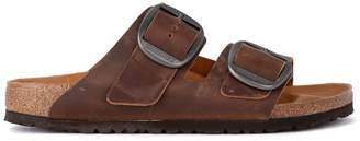 Birkenstock Arizona Big Buckle Ancient Brown Leather Sandal - Premium