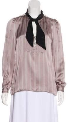 Mayle Silk Long Sleeve Blouse