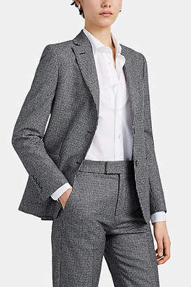 Officine Generale Women's Vanessa Houndstooth Wool Flannel Blazer