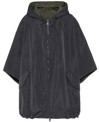 Brunello Cucinelli Hooded technical fabric jacket