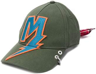 Diesel lightening patch baseball cap