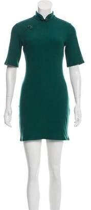 Reformation Rib Knit Mini Dress