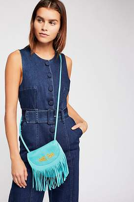N. Cut Paste Meadow Leather Crossbody