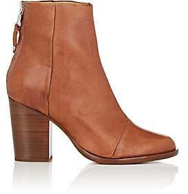 Rag & Bone WOMEN'S ASHBY LEATHER ANKLE BOOTS - LT. BROWN SIZE 11