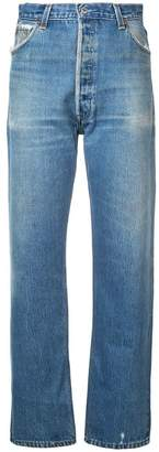 RE/DONE relaxed high waisted jeans
