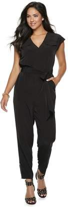 JLO by Jennifer Lopez Women's Utility Jumpsuit