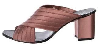 Pedro Garcia Xail Satin Sandals w/ Tags