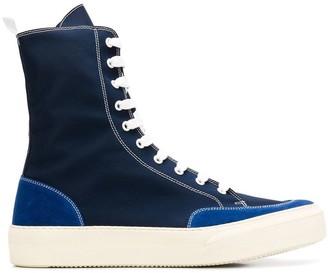 Sunnei hi-top sneakers