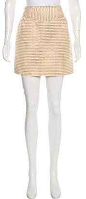 Marc by Marc Jacobs Dotted Mini Skirt